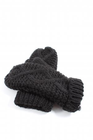 Only Knitted Gloves light grey casual look