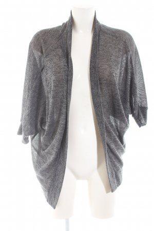 Only Strickjacke hellgrau meliert Casual-Look