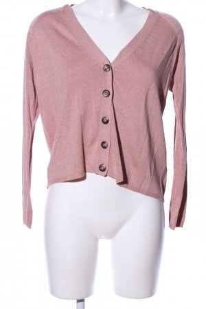 Only Strickjacke pink Casual-Look