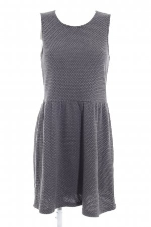 Only Strickkleid grau-taupe Casual-Look