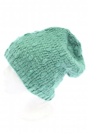 Only Knitted Hat green casual look