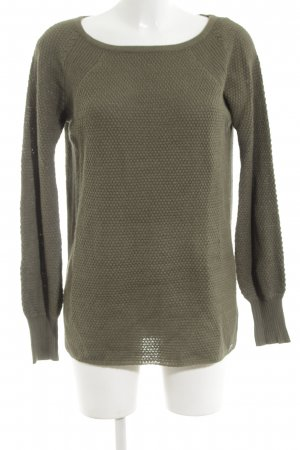 Only Strickpullover khaki Casual-Look