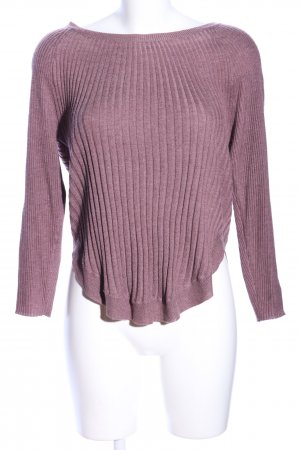 Only Strickpullover pink meliert Casual-Look