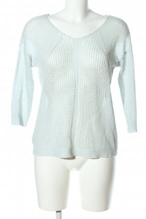 Only Strickpullover türkis Casual-Look