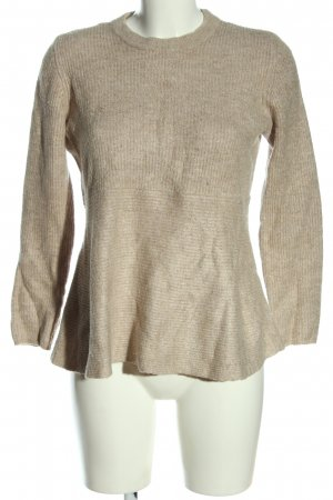 Only Strickpullover braun Casual-Look