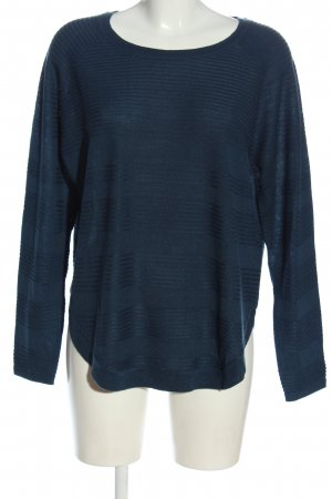 Only Strickpullover blau Casual-Look