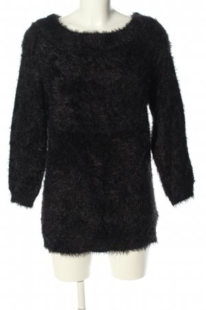 Only Strickpullover schwarz Casual-Look