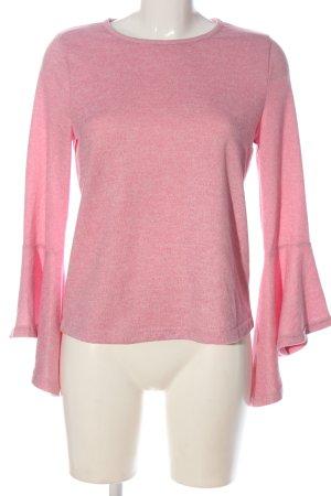Only Jersey de punto rosa look casual