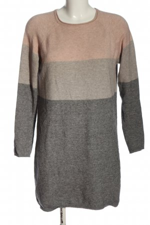 Only Jersey de punto gris claro-nude moteado look casual