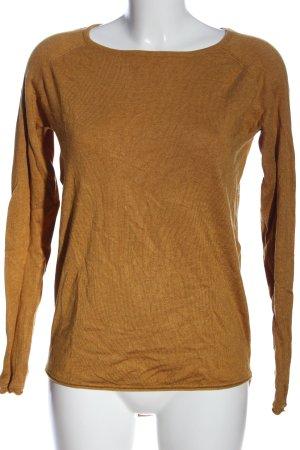 Only Strickshirt braun Casual-Look