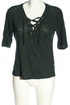 Only Strickshirt schwarz Casual-Look