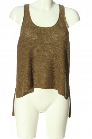 Only Stricktop braun Casual-Look