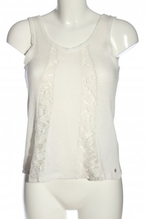 Only Knitted Top natural white casual look