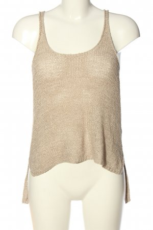 Only Stricktop wollweiß Zopfmuster Casual-Look