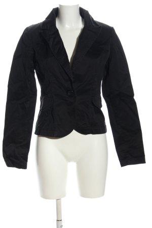 Only stylish girls Kurz-Blazer schwarz Business-Look
