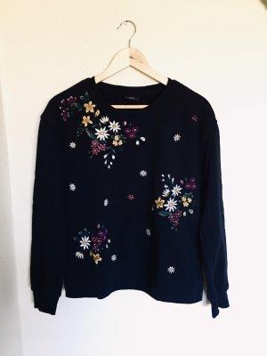 Only Crewneck Sweater black
