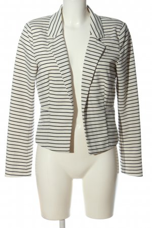 Only Sweat Blazer white-black allover print business style