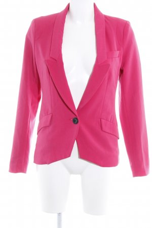 Only Sweatblazer magenta-schwarz Business-Look