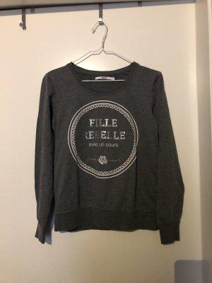 ONLY Sweater dunkelgrau Gr. S