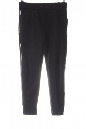 Only Joggingbroek zwart-wit casual uitstraling