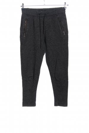 Only Pantalone fitness nero-bianco motivo astratto stile casual