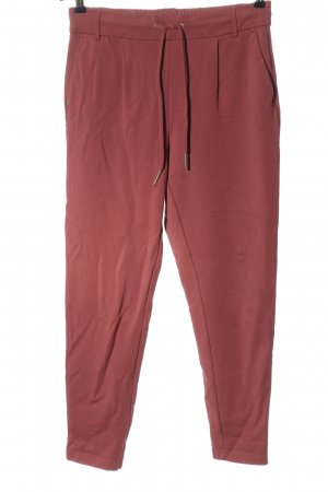 Only Sweat Pants red cable stitch casual look