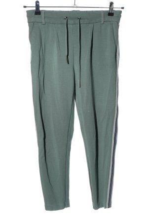Only Spodnie dresowe zielony W stylu casual