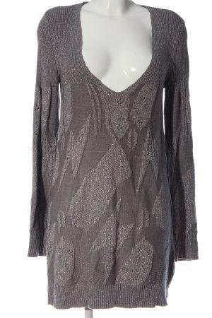 Only Robe Sweat gris clair-argenté style décontracté