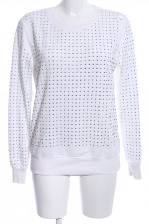Only Sweat Shirt white-silver-colored casual look