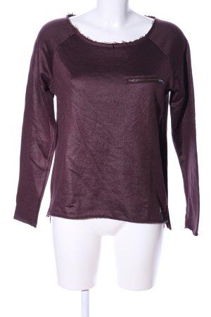 Only Sweatshirt lila Casual-Look
