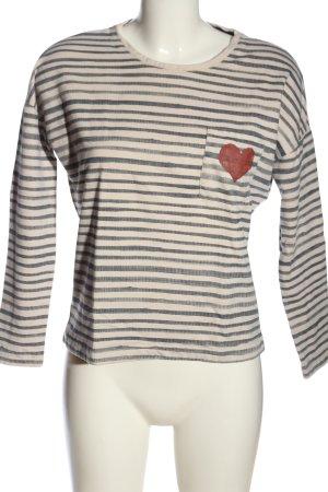 Only Sweatshirt Allover-Druck Casual-Look