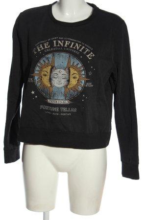 Only Sweatshirt Motivdruck Casual-Look