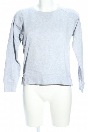 Only Sweat Shirt light grey flecked casual look