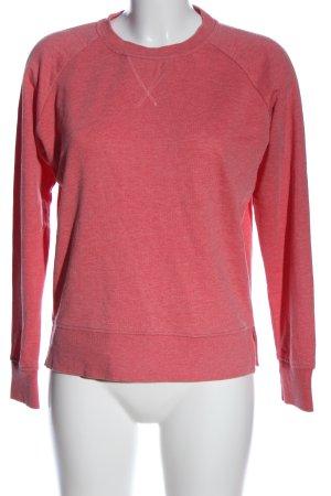 Only Sweatshirt pink meliert Casual-Look