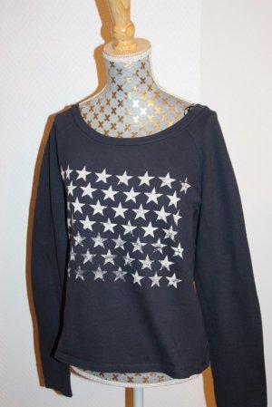 "Only Sweatshirt ""Stars"" blau Gr. S"