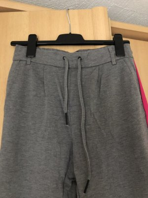 Only Pantalone fitness argento-magenta Viscosa