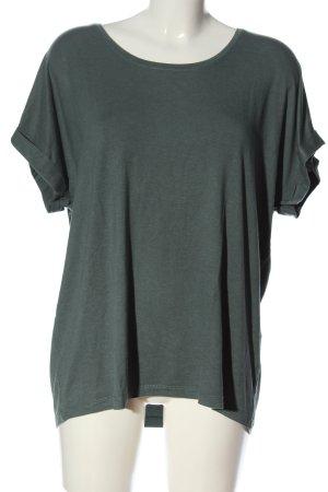 Only T-Shirt grün Casual-Look