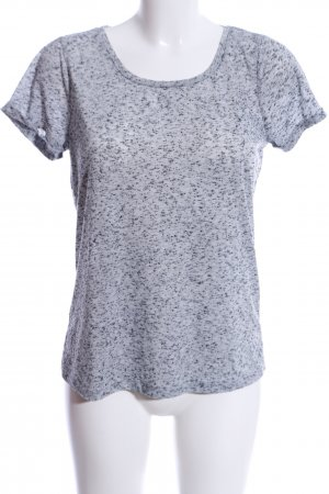 Only T-Shirt hellgrau meliert Casual-Look