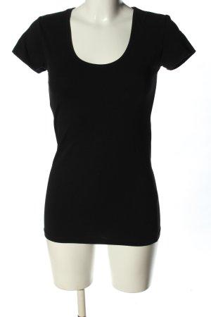 Only T-shirt noir style décontracté