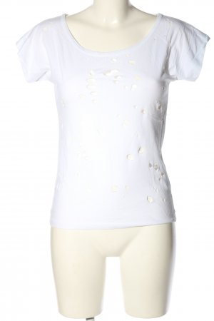 Only T-Shirt weiß Casual-Look
