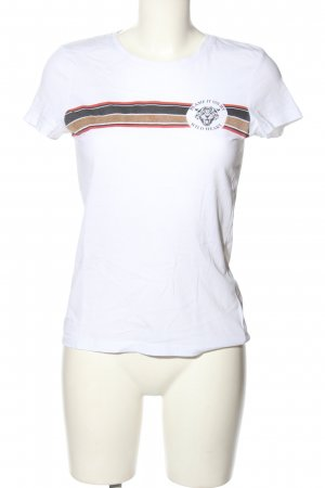 Only T-Shirt Motivdruck Casual-Look