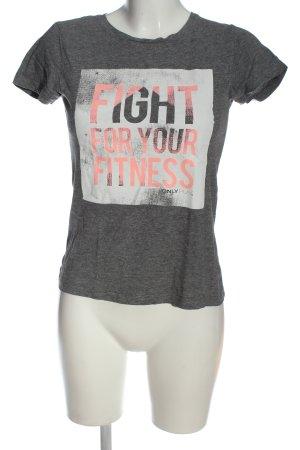 Only T-shirt Wydrukowane logo W stylu casual