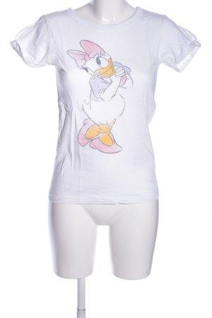 Only T-shirt Nadruk z motywem W stylu casual