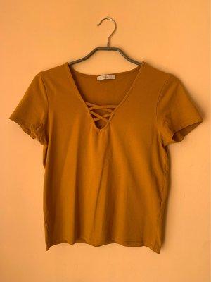 Only T-Shirt mit schönem Ausschnitt