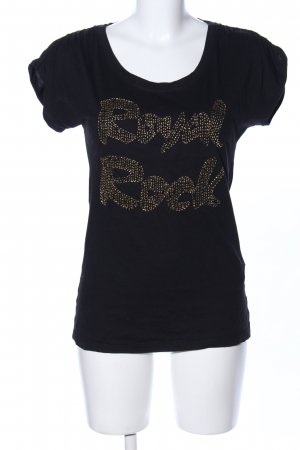 Only T-Shirt schwarz Casual-Look