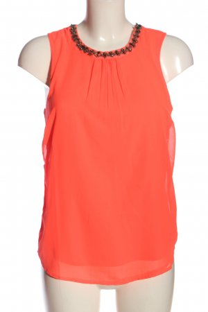 Only Tanktop rood casual uitstraling