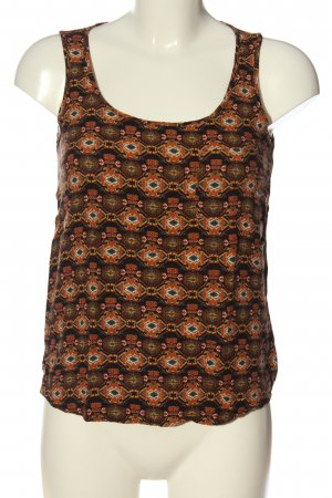 Only Tanktop abstract patroon casual uitstraling