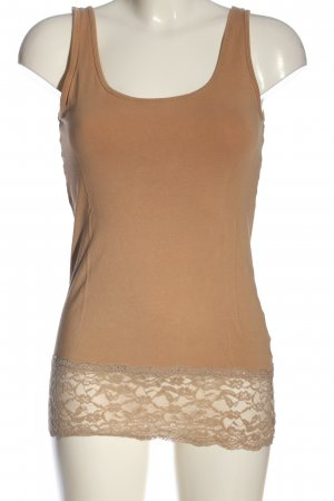 Only Tanktop nude casual uitstraling