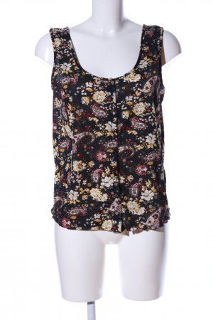 Only Tanktop Allover-Druck Casual-Look