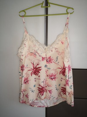 Only Lace Top cream-nude